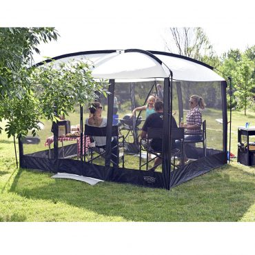 screen tents with floors