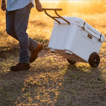 Large Cooler with Wheels and Handle