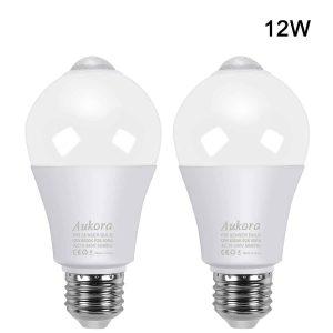 Aukora Motion Sensor Light Bulbs