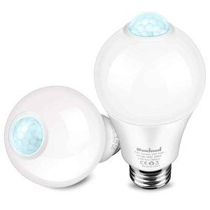 Boxlood Outdoor Motion Sensor Light Bulb