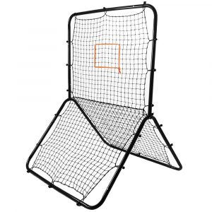 Crown Sporting Goods Pitch Back Screen w/ Adjustable Target