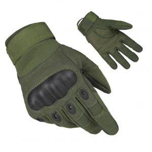 Fantastic Zone Wear-resistant Ventilate Hard Knuckle Tactical Gloves