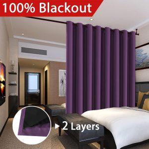 Flamingo P 100% Blackout Curtains