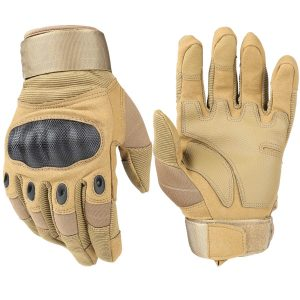HIKEMAN Tactical Hard Knuckle Army Military Gloves Touch Screen Gloves