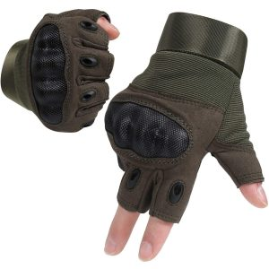 HIKEMAN Tactical Military Army Hard Knuckle Full Finger Gloves