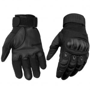 HOMEE Touch Screen Full Finger Tactical Gloves Hard Knuckle Gloves