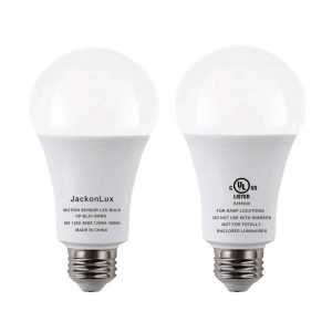 JackonLux Motion Sensor Light Bulb