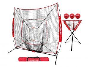 PowerNet DLX Combo for Baseball and Softball | Hitting & Throwing