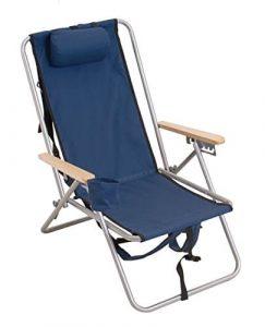 Rio Gear Original Steel Backpack Chair