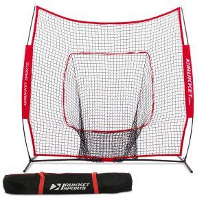 Rukket 7x7 Baseball and Softball Net| Includes Carry Bag