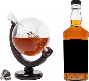 BarMe 850ml Whiskey Decanter