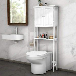 BestComfort Adjustable Over-The-Toilet Storage Cabinet