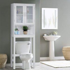 BestComfort Over The Toilet Storage Cabinet