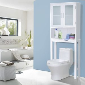 Gentle Shower Over-The-Toiletry Storage Cabinet