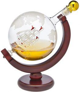 Godinger Whiskey Decanter Globe