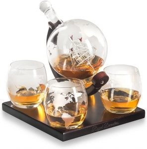 Royal Decanters whiskey decanter