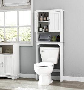 Spirich Over-The-Toilet Bathroom Storage Cabinet