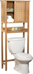 Target Marketing Systems Over-The-Toilet Bamboo Storage