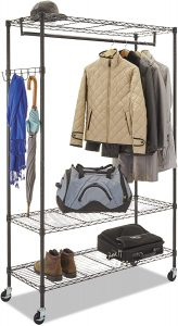Alera Wire Shelving Garment Rack