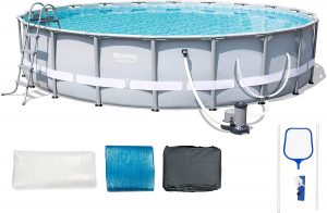 Bestway 56388E Power Steel Frame Pool Set With Filter Pump
