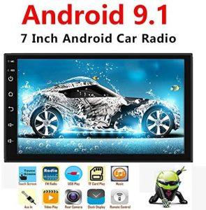 Binize Android 9.1 7 Inch HD Quad-Core 2 Din Car Stereo Radio