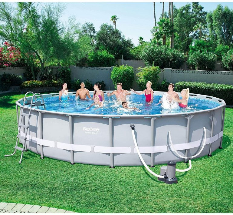 Frame Pool Set with Filter Pump