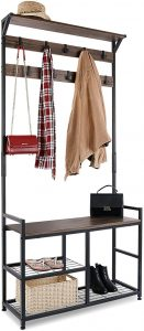 HOMEKOKO Coat Shoe Rack