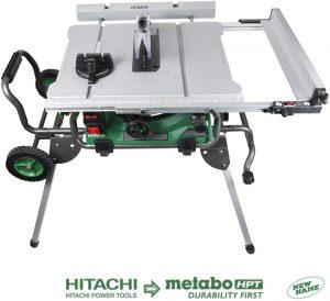 """Hitachi C10RJ 10"""" 15-Amp Jobsite Table Saw"""