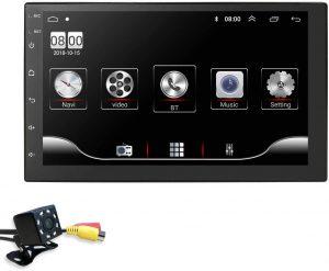 Hizpo Android 10 7-Inch HD Quad-Core 2 Din Car Stereo Radio