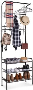 Homfa Coat Shoe Rack