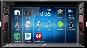 JVC KWV140BT Double Din BT DVD/CD/Am/FM Car Stereo