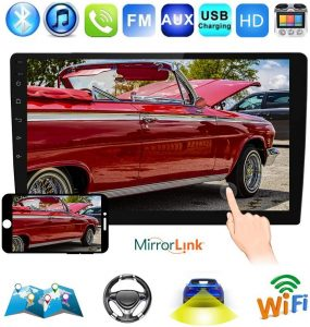 """Podofo 10.1"""" Double Din Car Stereo GPS Android 8.1"""
