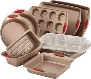 Rachael Ray 52410 10 Piece Cucina Nonstick Bakeware Set