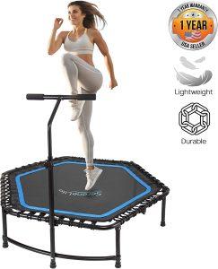 SereneLife Indoor Fitness Trampoline