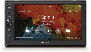 """Sony XAV-AX100 6.4"""" Car Play/Android Radio For Car"""