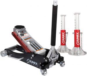Sunex 6603ASJPK Aluminum 3 Ton Floor Jack