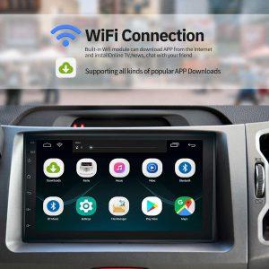 WZTO Double Din Car GPS Navigation Stereo