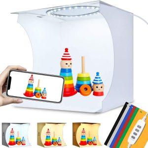 DUCLUS Adjustable Mini Photo Studio Light Box
