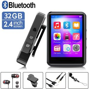 FDY Portable Music Player w/ Bluetooth