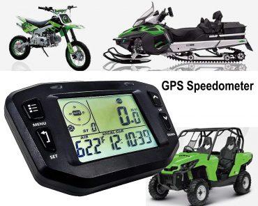 GPS Speedometer with Odometer