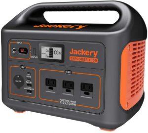 Jackery Explorer 1000, 1002Wh Portable Power Station