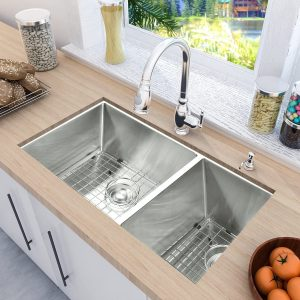 MOWA HUD33DO Pro Series 33 inches Stainless Steel Double Kitchen Sink