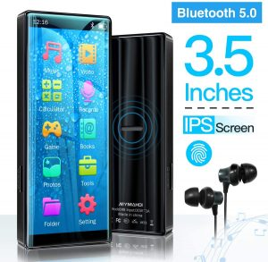 MYMAHDI High-Resolution MP3 Player with Bluetooth version 5.0
