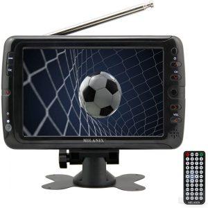 "Milanix MX7 7"" Portable Widescreen LCD TV"