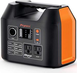 PRYMAX Portable Power Station with LED Flashlight