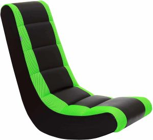 THE CREW FURNITURE Classic Gaming Floor Chair Rocker