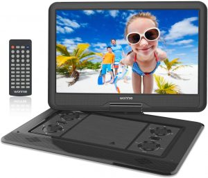 "WONNIE 17.9"" Large Portable Television"