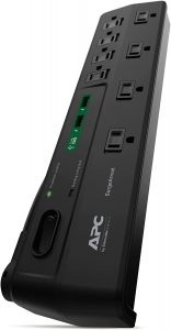 APC Power Strip w/USB Charging Ports, 8 Outlets