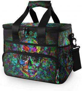Baofu Large Skull Waterproof Freezable Lunch Bag