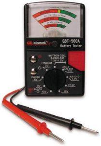 Gardner Bender Analog 1.5 V Battery Tester for All batteries